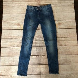 Rare Denham Spray Helix Super Tight Jeans 25